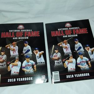 Two 2018 Hall of Fame yearbook